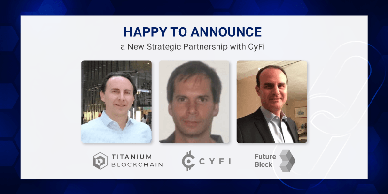New strategic partnership with CyFi